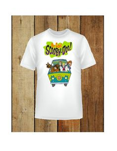 Scooby Doo Be Cool t-shirt add childs name by SAVVYCOUNTRYDESIGNS