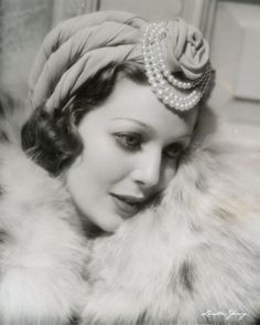 Loretta Young -- always dressed to the nines.  The one time I remember seeing her in a role was in a TV Christmas melodrama, about her last role, and she was still great.