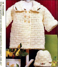 crochet fabric , CROCHET - GANCHILLO - PATRONES - GRAFICOS: CAMPERITA BEBE