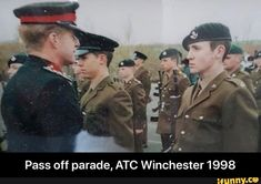 Pass off parade, ATC Winchester 1998 - Pass off parade, ATC Winchester 1998 - iFunny :) Funny Supernatural Memes, Brooklyn Nine Nine, Atc, Armed Forces, Winchester, Popular Memes, Tv Shows, Relationship, Special Forces