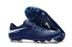 buy popular d41bd c0910 The Latest New Nike Hypervenom Phelon III 3 FG Soccer Cleats - Dark Blue White  at   Free Delivery   Cash on Delivery   15 Days Return.
