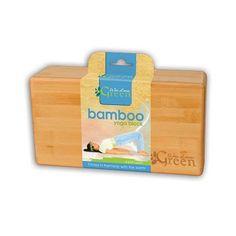 Wai Lana Productions G-1101 Bamboo Yoga Block