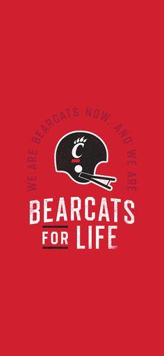 Cincinnati Bearcats, University Of Cincinnati, Graphic Design, Wallpaper, Wallpapers, Visual Communication