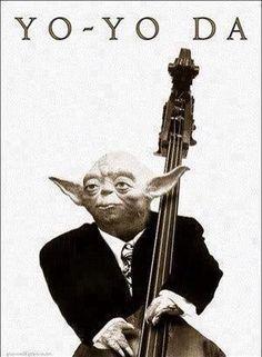 Except yo yo ma plays cello, not bass.....