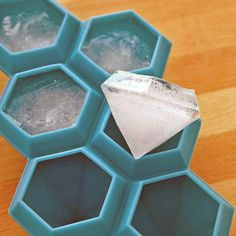 Fancy - Diamond Ice Cube Tray super cute if you are throwing an engagement party/wedding shower