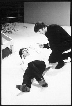 John and Paul. Christmas time.... Such a joy