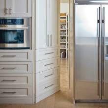 hidden door to pantry