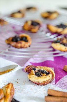 Zimtkringel mit Blaubeeren // Cinnamon Cringle with Blueberries