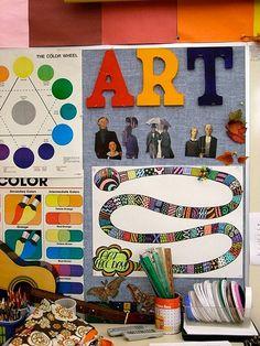 Love this behavior Game board! DSCF1889 by teachingpalette, via Flickr