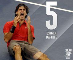 Roger Federer - US Open - Septembre 2015