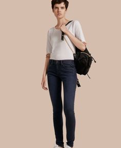 Burberry Skinny Fit Power Stretch Jeans $250