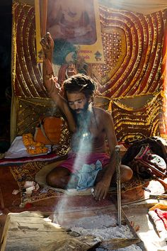 The Kumbh Mela Sadhu