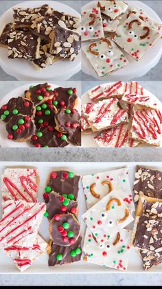 Christmas Crack Toffee ways!) Christmas Crack Toffee Recipe… you are going to want to put this recipe on your MUST MAKE list this year because it is seriously amazing. It takes SWEET and SALTY to a whole new level and it only takes 15 minutes to make! Christmas Bark, Easy Christmas Treats, Christmas Deserts, Holiday Desserts, Holiday Baking, Holiday Treats, Holiday Recipes, Christmas Time, Christmas Foods