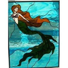 Free Mermaid Stained Glass Patterns - Yahoo Image Search Results
