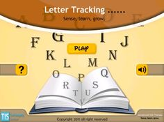5 levels for students to practice letter tracking!  Perfect for the student who always loses their place!