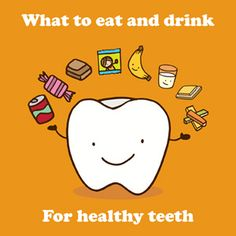 What to eat and drink for healthy teeth booklet - support Clean My Teeth & help improve the oral health of children across the world!