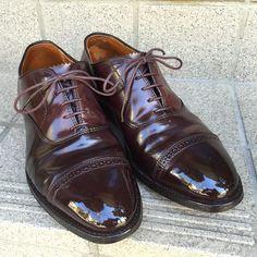 2016/09/05 17:09:47 gentle_kutsumigaki #Alden #cordovan #shoeshine #shoecare #classy #tokyo #madeinusa #fashion #mensfashion #bootblack #saphir #gentleman
