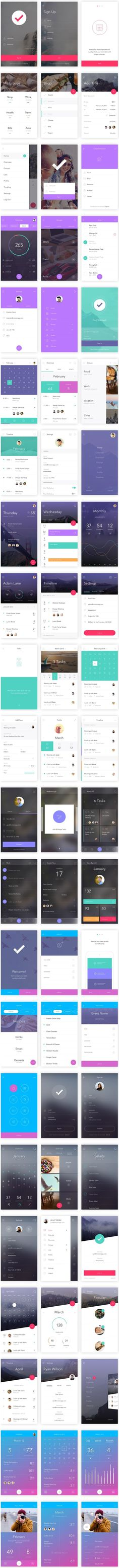 TweetSumoMe Friends, today's featured freebie is a smashing mobile app ui kit called DO. The kit, created by InvisionApp, is for free for Photoshop and Sketch. It's got over 130 stunning screens, 10 complete themes, #MobileApps