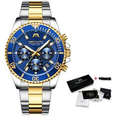 Father's Day Gift For Dad/Husband/Man - Luxury Mens Watches Sports Chr – Family Love Gifts Cool Gifts For Teens, Great Gifts For Dad, Perfect Gift For Dad, Gifts For Husband, Fathers Day Gifts, Nice Gifts, Special Gifts, Mens Sport Watches, Luxury Watches For Men