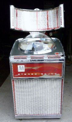 1962 AMI CONTINENTAL 2 STEREO ROUND JUKEBOX 45s
