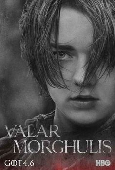 "Arya Stark | These New ""Game Of Thrones"" Posters Will Give You A Sense Of Foreboding"