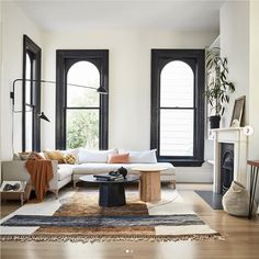 The Atlas Moroccan Rug from Mehraban was featured in Domino Magazine. Photographed in the Modern Victorian San Francisco home of blogger 'Apartment 34'