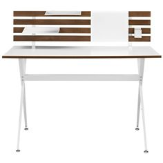 Modway Furniture Knack Wood Desk - Cherry By (175 CAD) ❤ liked on Polyvore featuring home, furniture, desks, cherry desk, home wood furniture, cherry wood furniture, wood desk and wooden furniture