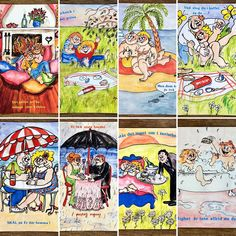 Do something vintage; Send a postcard to someone you love!  #postcard #kitsch #lovely #art #ajamurraythoren #vintage #retro #antique #Etsy #AgathaWar #Etsyseller #etsyshop #etsyvintage #etsyretro #etsyantique #vintageshop #retroshop #antiqueshop