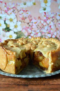Tarta de Manzana y Frutas Especiadas - Con Harina En Mis Zapatos