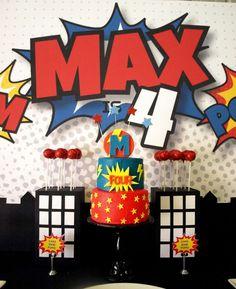 Super Hero Birthday Party Ideas | Photo 13 of 22