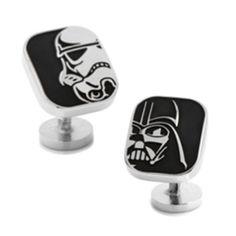 Star Wars Darth Vader and Stormtrooper Cufflinks