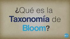 QueEsTaxonomíaBloomUnaReferenciaRápida-Video-BlogGesvin