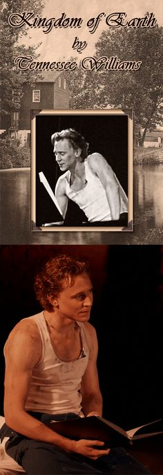 Tom Hiddleston's Voice. Tom Hiddleston read The Kingdom of Earth by Tennessee Williams at the Criterion Theater (2012). Tom has a perfect southern accent. (Gif source: Tom Hiddleston-Gifs Tumblr). Link: https://www.youtube.com/watch?feature=player_detailpage&v=1ihRXQgwtKY