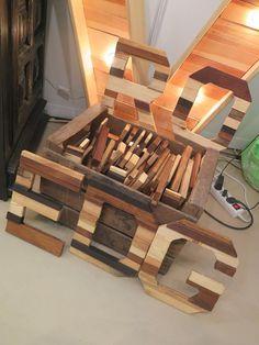 Letras de madera de Mondema Artesanos