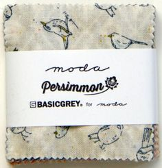 Persimmon Mini Charm 30380MC.  Moda Mini Charm Packs by Moda United Notions. Each pack contains forty two 2.5 inch squares.  Sku #: 11363. Price: $3.99 per pack.  Available at HillCityMercantile.com