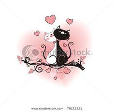 """Трафареты,узоры,векторные иллюстрации для росписи и как идеи для декора.Часть 4 -""""кошачья"""""""""""