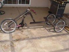 Picture of Rear Frame Drift Trike Frame, Bike Frame, Motorized Big Wheel, Velo Tricycle, Cross Country Bike, Bicycle Sidecar, Build A Bike, Recumbent Bicycle, Custom Trikes
