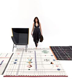 Rabari Rug Collection by Doshi Levien for Nanimarquina   http://www.yellowtrace.com.au/doshi-levien-rabari-collection/