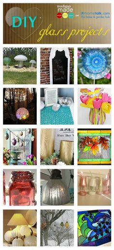 20+ DIY Glass Projects for Your Home.