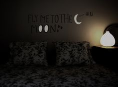 Hommu® eco-chic #wallstickers :: Fly me to the moon XL #valentinesday special offer 32€