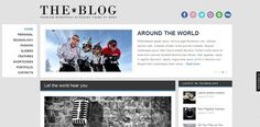 The Blog - blogging WordPress themes Wordpress Theme, Blogging, Hate