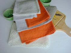 Linen towel Kitchen towels  natural by LinenWoolRainbow on Etsy