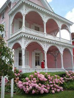 Casas cottage! | Artesanato & Humor de Mulher