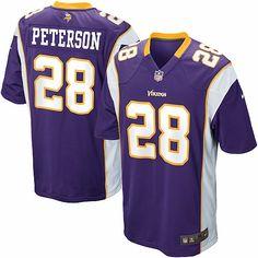 7f063be76 Nike NFL Minnesota Vikings Adrian Peterson Youth Replica Football Jersey   69.95 Minnesota Vikings Game
