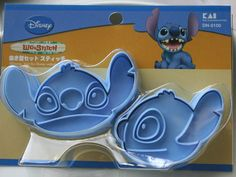 Lilo & Stitch Cookie Cutters!!  I would love to be able to make Stitch cookies...