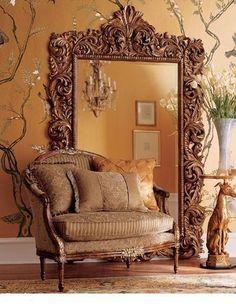 Big wall mirror, need it!
