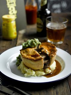 I learned quickly Pie means a different thing in the UK.