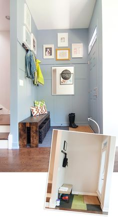 Entry Makeover by Ace Blogger @yellowbrickhome
