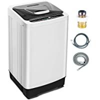 Portable Washing Machine 1.55 Cu.ft /12.6 lbs Full Automatic washer and dryer combo Compact laundry machine washer with Drain Pump Wheels LED Display for Apartment Camping Rv Sink Clothes #22 Portable Washing Machine 1.55 Cu.ft /12.6 lbs Full Automatic washer and dryer combo Compact laundry machine washer with Drain Pump Wheels LED Display for Apartment Camping Rv Sink Clothes 5.0 out of 5 stars 2 $219.99