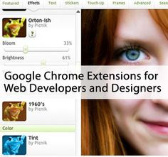 Best Google Chrome extensions for web designers and Developers